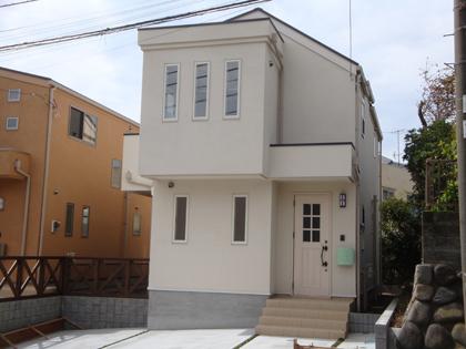 2階リビングの分譲住宅